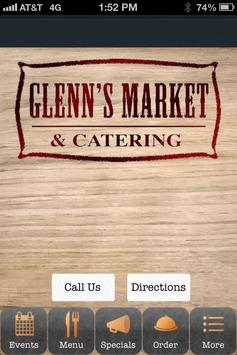 Glenn's Market and Catering poster