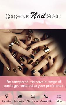 Gorgeous Nail Salon poster