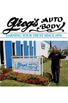 Greg's Auto Body poster