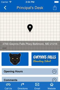 Gwynns Falls Elementary School apk screenshot