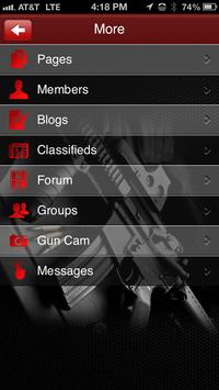 Gun Social Network apk screenshot
