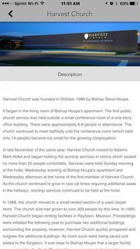 Harvest Church Intl. Outreach apk screenshot