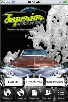 Superior Hand Car Wash poster
