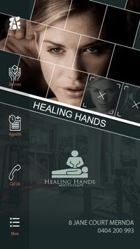 Healing Hands Myotherapy poster