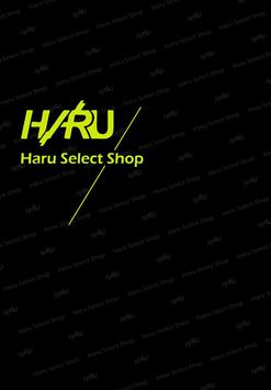 Haru Taipei 潮流服飾 粉絲APP poster