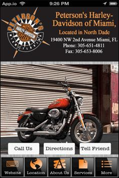 Peterson's Harley-Davidson Mia poster