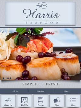 Harris Seafood poster