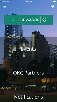 HausRewards OKC poster