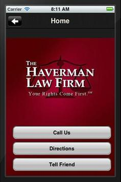 The Haverman Law Firm poster