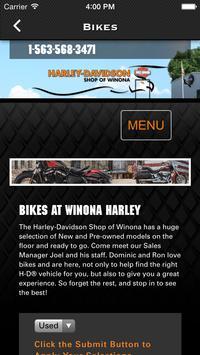 Harley-Davidson Shop of Winona screenshot 2