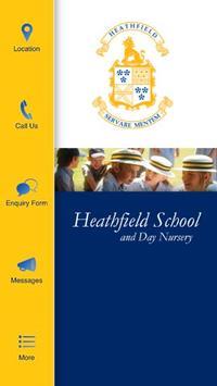 Heathfield School & Nursery poster