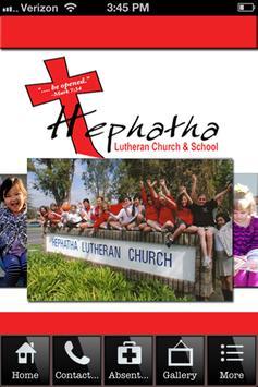 Hepthatha Lutheran School poster