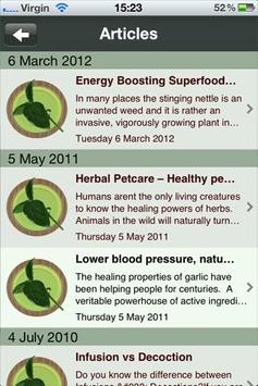 Herbology On The Go apk screenshot