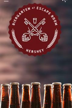 Hershey Biergarten poster