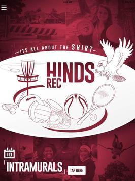 Hinds Rec poster