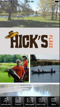 Hick's Place poster