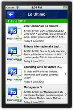 HighSchool Mobile App apk screenshot