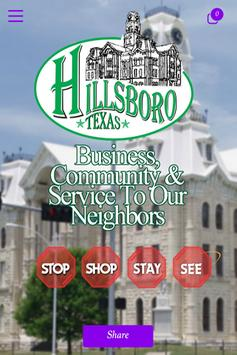 Hillsboro Chamber of Commerce poster