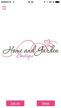 Home And Garden Boutique poster