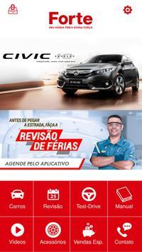 Honda Forte poster