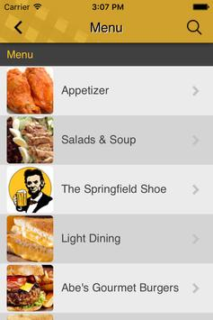 Honest Abe's Tap & Grill apk screenshot