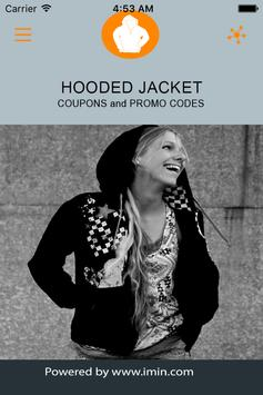 Hooded Jacket Coupons - Im In! poster