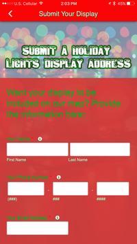 Christmas Lights Map App screenshot 2