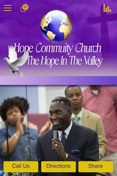 Hope Community Church poster