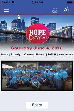 Hope Day NY poster