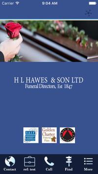 H L Hawes poster