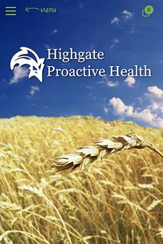 Highgate Proactive Health poster