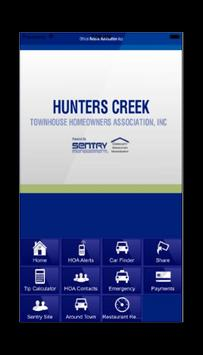 Hunters Creek Townhouse HOA poster