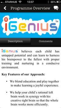 iGenius poster