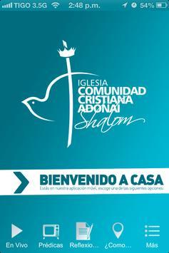 Iglesia Shalom poster