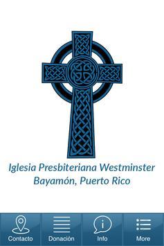 Igl. Presbiteriana Westminster poster