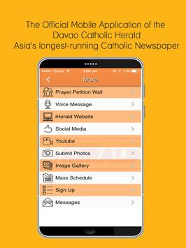 Davao Catholic Herald(iHerald) apk screenshot