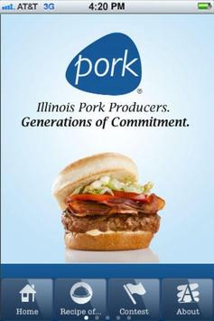 Illinois Pork Producers poster