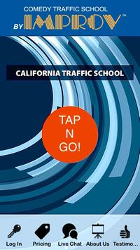 TRAFFIC SCHOOL CALIFORNIA poster