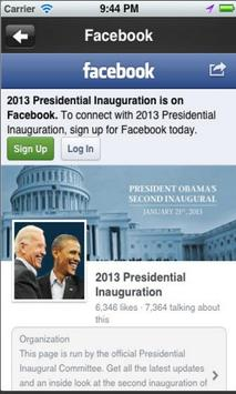 Inauguration 2013 apk screenshot