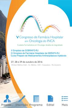 Farmacia Hospitalar INCA poster