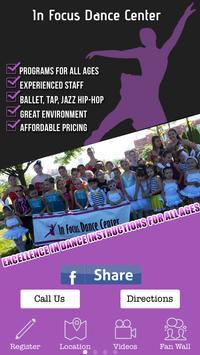 In Focus Dance Center poster