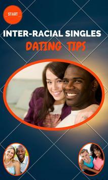 InterracialSingles Dating Tips poster