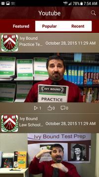 Ivy Bound Test Prep apk screenshot