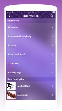 Just Class Fitness screenshot 2