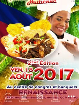 Journée cuisine haïtienne apk screenshot