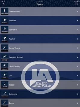 JA Athletic Booster Club screenshot 4