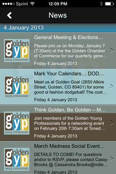 Golden Young Professionals apk screenshot