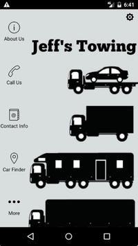 Jeff's Towing poster