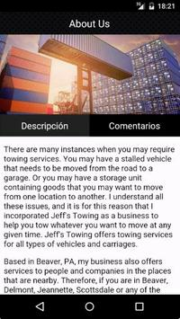 Jeff's Towing screenshot 1