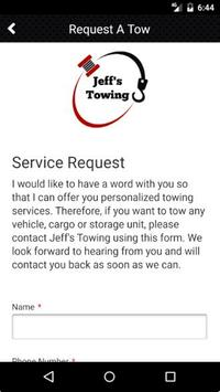 Jeff's Towing screenshot 3